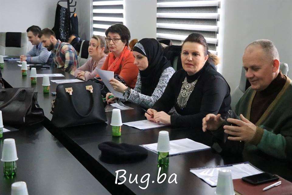 """U Bugojnu održana radionica i trening """"Pisanja projektnih prijedloga/bazični nivo"""""""
