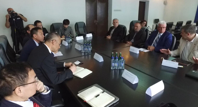 Premijer Vlade SBK održao sastanak sa predstavnicima kineske državne kompanije CMEC