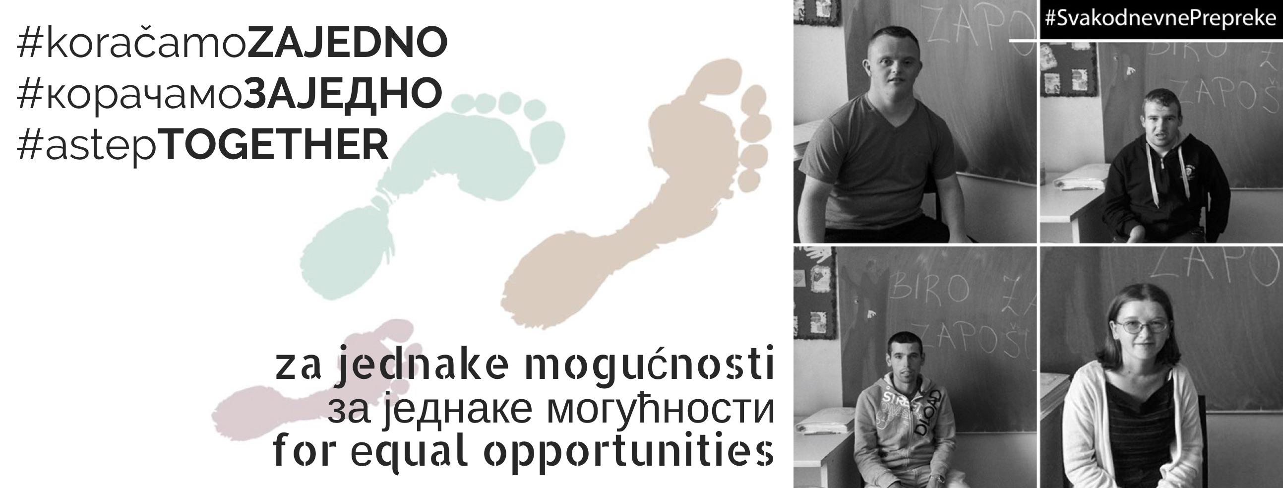 Koračamo zajedno: Pratite nas i podržite kampanju #SvakodnevnePrepreke tima iz Bugojna