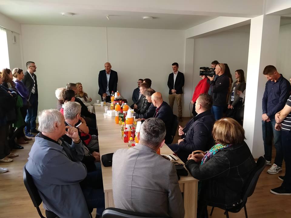 """Otvoren Omladinski centar Bugojno u okviru projekta """"Podrška mladima u lokalnim zajednicama u BiH"""""""