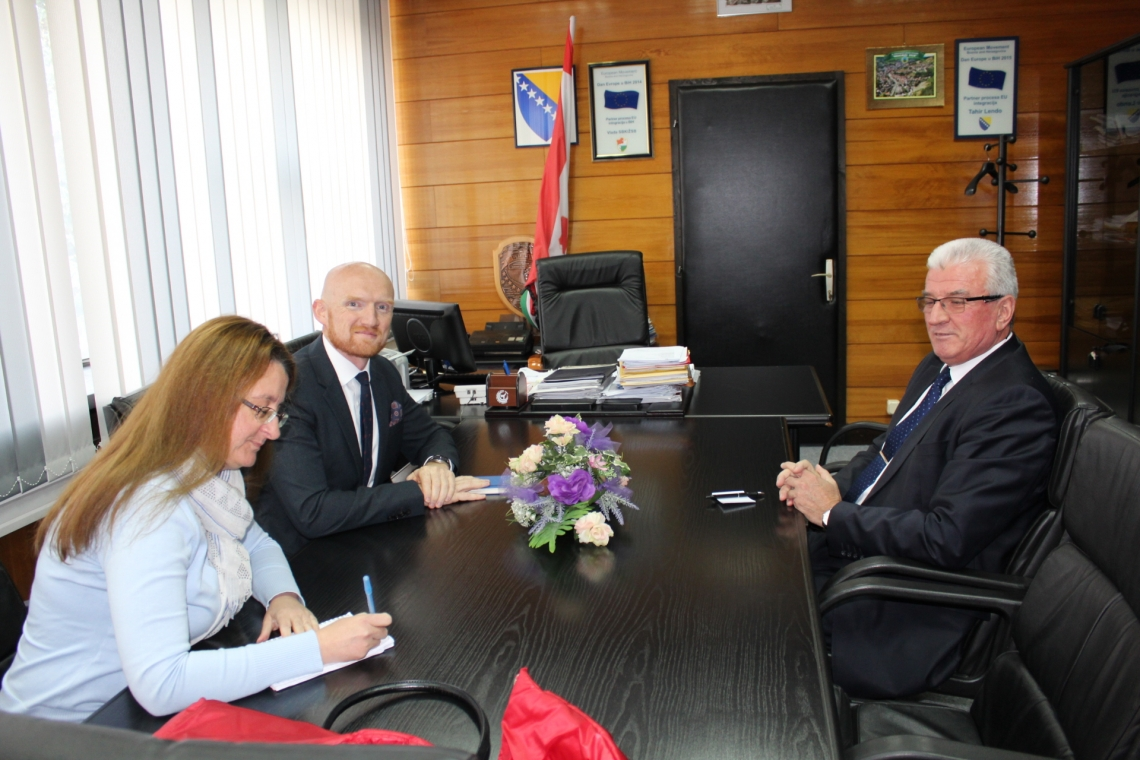 Novoimenovani britanski ambasador u BiH Matthew Field posjetio Vladu SBK