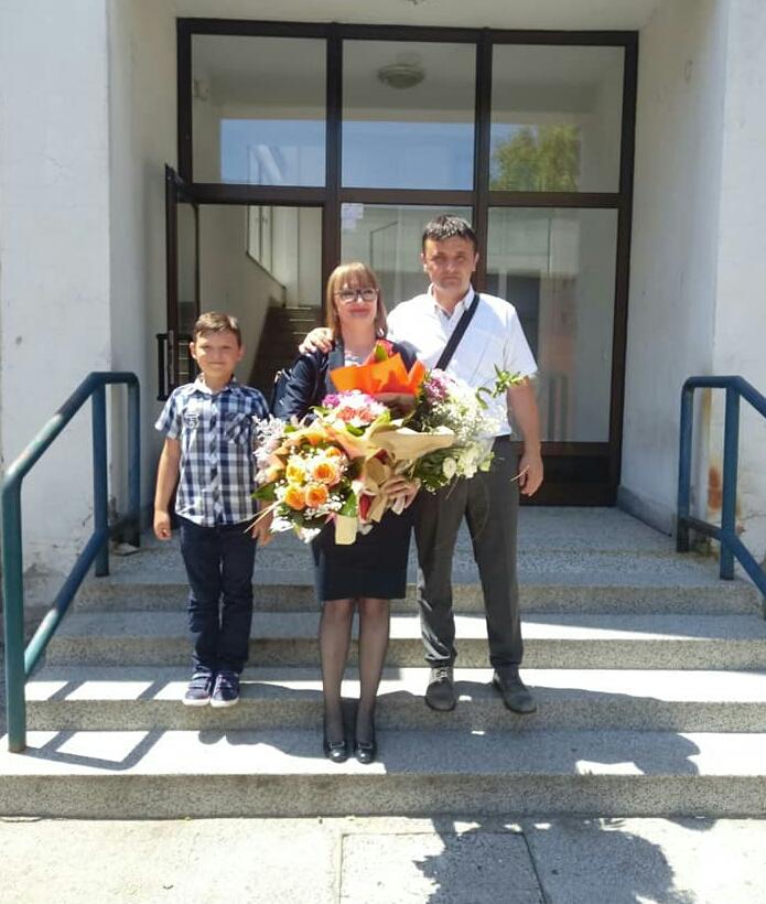 OO SDA Bugojno: Čestitke povodom odbrane doktorske disertacije Zijadi Alić
